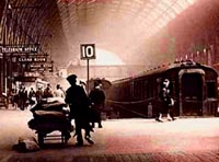 Kins Cross Station Postcard new