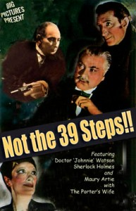 Not the 39 Steps blog