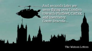 Flying over Parliament 350